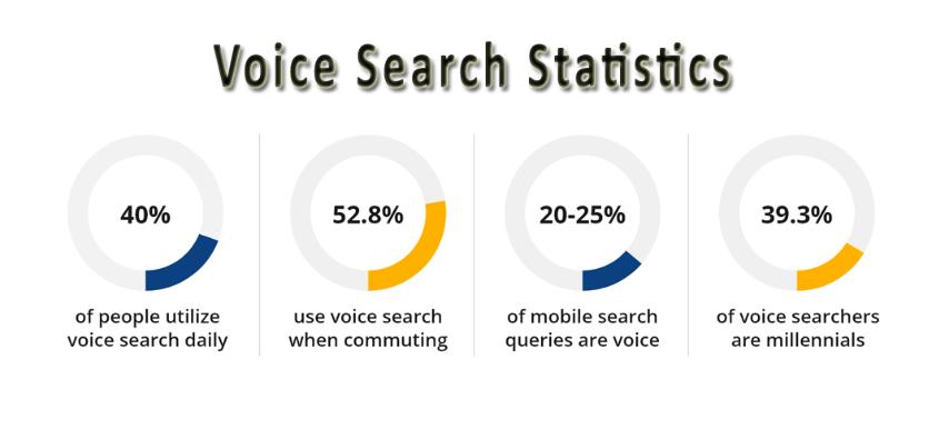 Voice search statics
